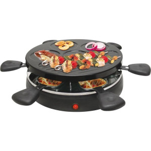 Camry Raclette Grill Tischgrill Elektrogrill für 6...