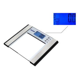 Mesko Digitale Glas Körperfettwaage Belastung bis...