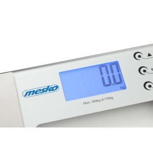 Mesko Digitale Glas Körperfettwaage Belastung bis 180 KG