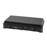 Zilan ZLN-0032 Gas Cooker 3-Flame Black