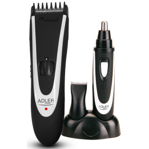 Adler 2in1 Haarschneider Set Aufsatz für 1-24mm...
