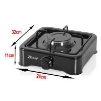 Zilan ZLN-0018 Gas Cooker 1-Flamed Black
