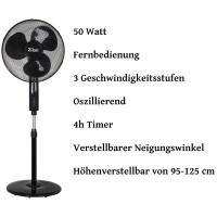 Zilan Standventilator Ø 41 cm mit Fernbedienung 50 Watt
