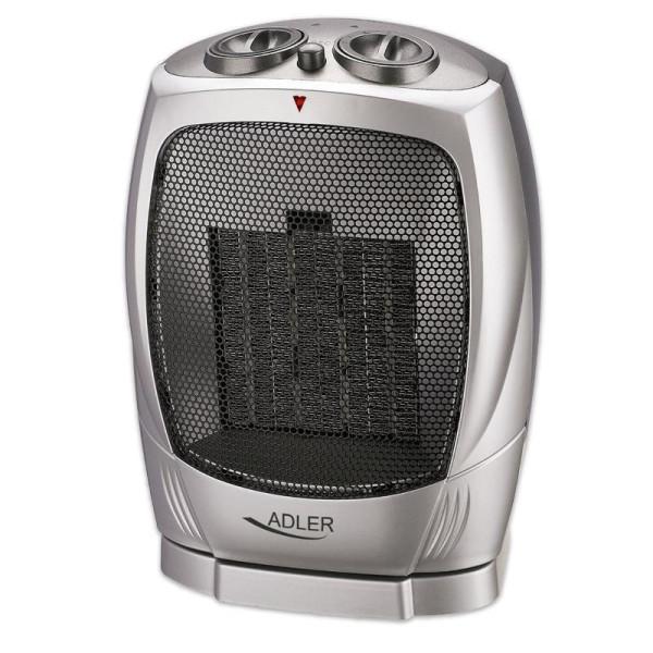 Adler Keramik Heizlüfter  Oszillierend 3 Leistungsstufen 1500 Watt
