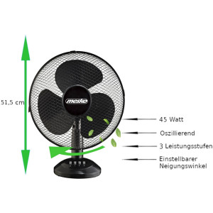 Mesko MS-7310 table fan Ø40 cm