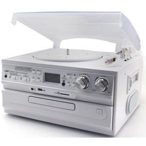 Cyberlux CL-3045W Turntable White