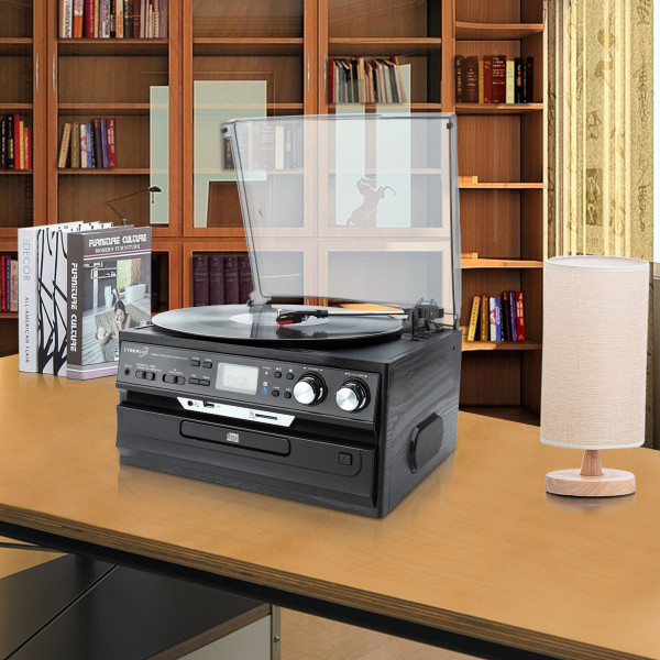 Cyberlux CL-3040B Turntable Black