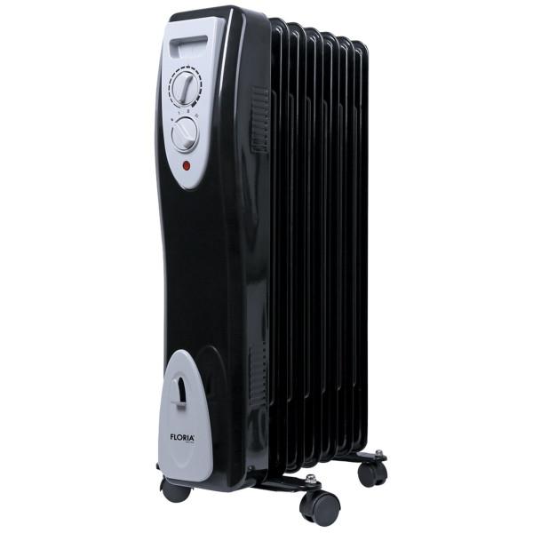 Zilan Radiator mit 7 Rippen Thermostat 1500 Watt