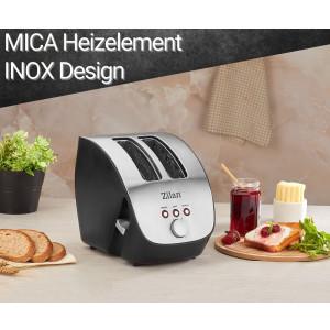 Zilan 2 Scheiben Schräg-Toaster...