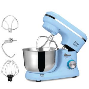 Zilan Küchenmaschine mit Edelstahl Schüssel...