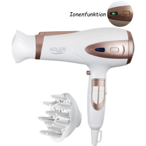 Adler AD-2248 Hair Dryer white