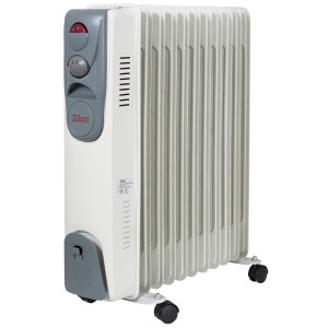 Zilan Öl Radiator 11 Rippen 2500 Watt Thermostat 3 Stufen