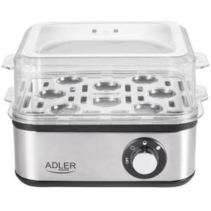 Adler Elektrischer Eierkocher 1-8 Eier Eier 500 Watt