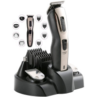 Adler 5in1 Haarschneider Haartrimmer Haarschneidegerät 10 Aufsätze