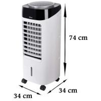 Zilan 3in1 Aircooler mit Fernbedienung Timer oszillierend 300 Watt