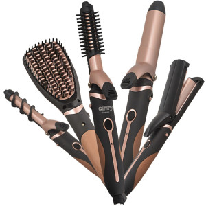 Camry Hairstyling Set 5in1 Richtbürste ZIG-ZAG...