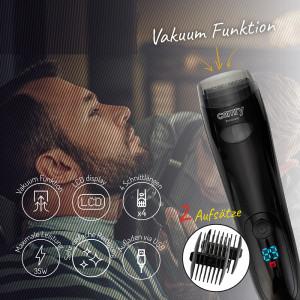 Camry Vakuum Bartschneider 2 Aufsätze LCD-Display 5 Schnittlängen