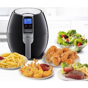 Zilan Heißluftfritteuse Touch Display 3,5 Liter 1.500 Watt