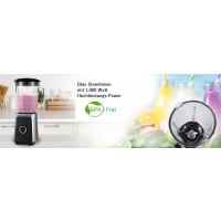 Camry Standmixer Hochleistungsmixer 1,5 Liter Glasgefäß 1000 Watt