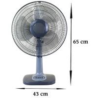 Echos Tischventilator Ø ca. 42 cm oszillierend 45 Watt