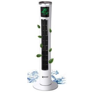 Ecosa Turmventilator mit Fernbedienung Timer oszillierend...