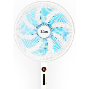 Zilan 3in1 Standventilator Ø 40cm mit Fernbedienung Timer oszillierend 60 Watt