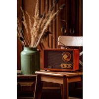 Adler Retro Radio Bluetooth Radio FM/AM