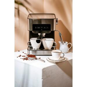 Camry Espresso Maschine mit Milchaufschäumer 15 Bar 1000 Watt