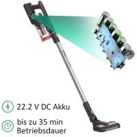 Zilan Kabelloser Akkusauger 35 min Laufzeit 270° Motorisierte Bürste 140 Watt
