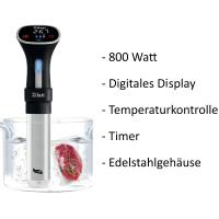 Zilan Sous Vide Garer  Schongarer Timer  Digitales Display 800 Watt