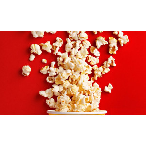 Zilan Popcorn Maschine Popcornmaschine 1200 Watt