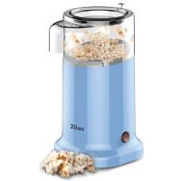 Zilan Popcorn Maschine Popcornmaschine ohne Fett und Öl 1200 Watt