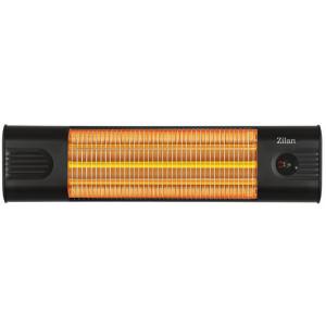 Zilan Karbon Heizstrahler mit Fernbedienung und Timer 3 Leistungsstufen1800 Watt