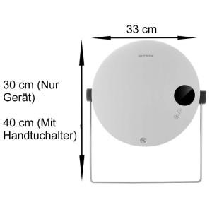 Echos Keramik Heizlüfter mit Handtuchhalter 2000 W