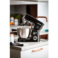Mesko Küchenmaschine mit Edelstahlschüssel 3,5 Liter 1200 Watt