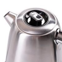 Camry Edelstahl Wasserkocher mit Temperatureinstellung l LED Beleuchtung 1,7 L 2200 Watt