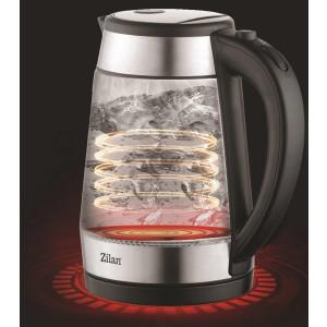Zilan Glas Wasserkocher mit LED-Beleuchtung 1,7 L 2200 W
