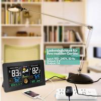 Echos Funkwetterstation mit LCD Farbdisplay