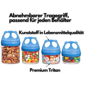 Ecosa Pandadosen Variable Vorratsdosen Frischhaltedosen...