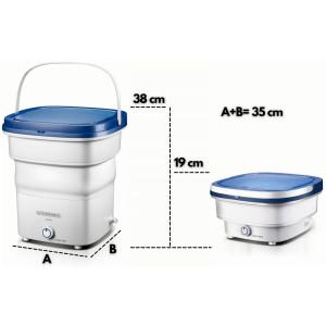Steinborg Faltbare Mini Waschmaschine 1,5 KG 135 Watt