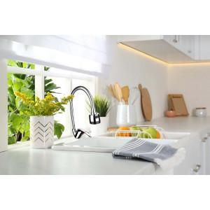 Zilan Küchenarmatur Mischbatterie mit 360° schwenkbarem Kopf