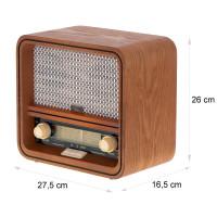 Camry Retro Radio Bluetooth USB AUX-IN